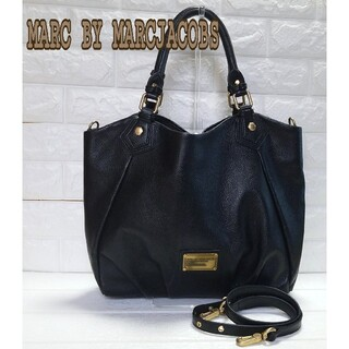 MARC BY MARC JACOBS - MARCBY MARCJACOBS トートバッグ 2WAY A4 大容量 美品