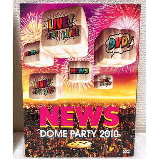 NEWS - NEWS DOME PARTY 2010 LIVE!LIVE!LIVE!DVD!