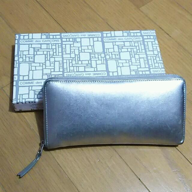 purchase cheap 8cb71 0d676 コムデギャルソン★長財布☆シルバー | フリマアプリ ラクマ