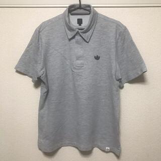 アディダス(adidas)のアディダス オリジナル adidas ポロシャツ  半袖 グレー Oサイズ(ポロシャツ)