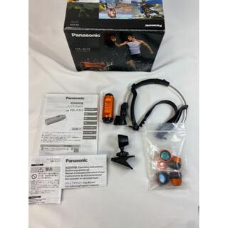 パナソニック(Panasonic)の620 パナソニック ウェアラブルカメラ オレンジ HX-A1H-D(コンパクトデジタルカメラ)