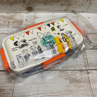 新品 送料込み スヌーピー 4点ロックランチボックス 530ml  お弁当箱(弁当用品)