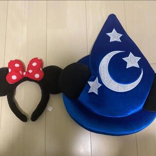 ディズニー(Disney)のミニー カチューシャ ミッキー ハット(カチューシャ)