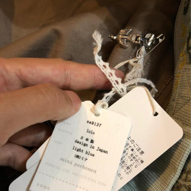 mina perhonen(ミナペルホネン)のミナペルホネン LOLOショルダーバッグ@A24 レディースのバッグ(ショルダーバッグ)の商品写真