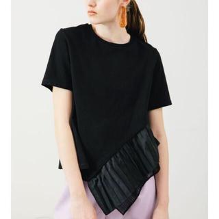 ENFOLD - elendeek エレンディーク ヘムプリーツカットソー☆Tシャツ トップス