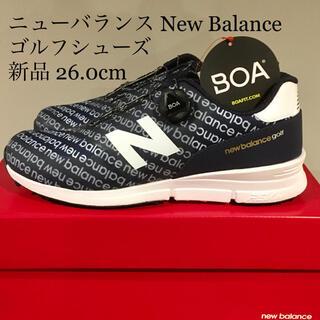 New Balance - 【新品】ニューバランス new balance ゴルフシューズ 26.0cm
