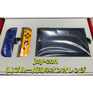 Nintendo Switch - 新品未使用 任天堂スイッチ joy-con(L)ブルー(R)ネオンオレンジ