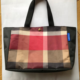 BURBERRY BLUE LABEL - クレストブリッジトートバッグ