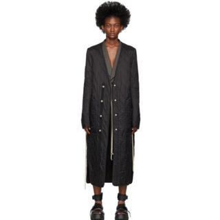 Rick Owens - Rick owens 19AW LONG QUILTED LINER COAT