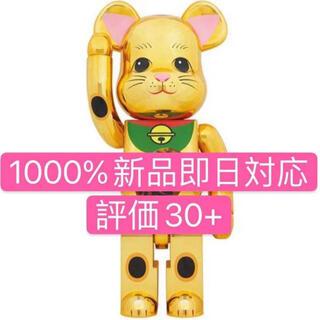 BE@RBRICK 招き猫 金メッキ 発光 1000%