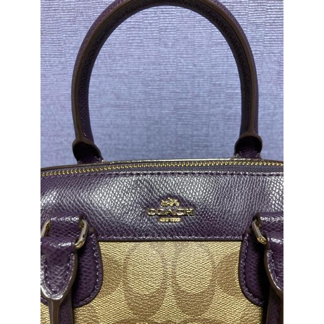 COACH(コーチ)のCoach ミニボストン ショルダーバッグ   レディースのバッグ(ショルダーバッグ)の商品写真