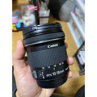 Canon - Canon EF S 10-18mm f/4.5-5.6 IS STM