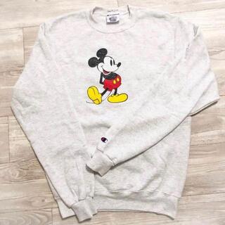 ディズニー(Disney)の希少!rhc×チャンピオン ミッキー スウェット(トレーナー/スウェット)