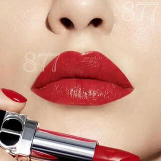 Dior - ルージュ ディオール 999S サテン 口紅 Dior