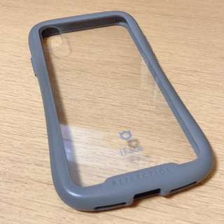 iPhone - iface iPhoneX クリアケース グレー