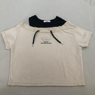 ピンクラテ(PINK-latte)の140cm ピンクラテ 半袖トップス 新品 タグ無し(Tシャツ/カットソー)