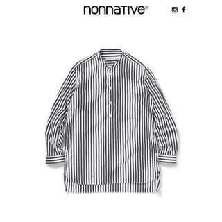 ノンネイティブ(nonnative)のnonnative OFFICER PULLOVER SHIRT STRIPE(シャツ)
