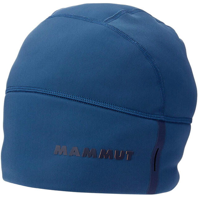 Mammut(マムート)のMAMMUT マムート ビーニー エナジービーニー ブルー青 ユニセックスF新品 スポーツ/アウトドアのアウトドア(登山用品)の商品写真