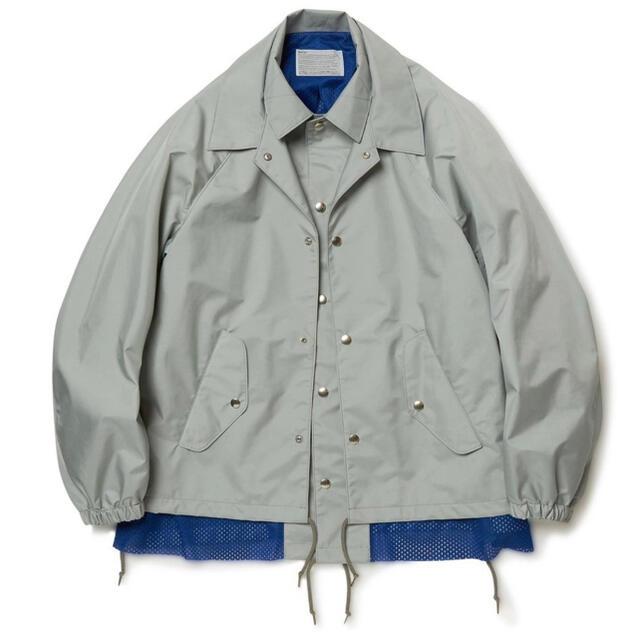 kolor(カラー)のkolor 20ss レイヤードコーチジャケット メンズのジャケット/アウター(ナイロンジャケット)の商品写真