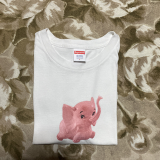 Supreme - 17ss Supreme  Elephant tee tシャツ エレファント L