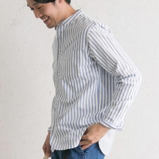 ドアーズ(DOORS / URBAN RESEARCH)の美品 アーバンリサーチ シャツ ストライプ メンズ 38 Mサイズ(シャツ)