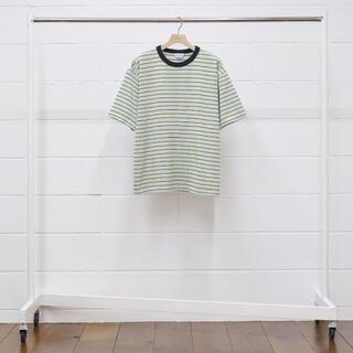UNUSED - UNUSED 20AW T-Shirt マルチボーダーTシャツ