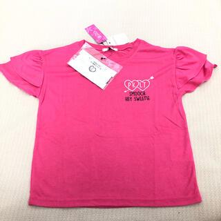 ピンクラテ(PINK-latte)の150cm  ピンクラテ 女の子トップス ネックレス付き 新品 上代3190円(Tシャツ/カットソー)