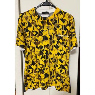 PRADA - プラダ 2014SS グラフィックプリントTシャツ XS