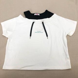 ピンクラテ(PINK-latte)の150cm  ピンクラテ 半袖トップス 新品(Tシャツ/カットソー)