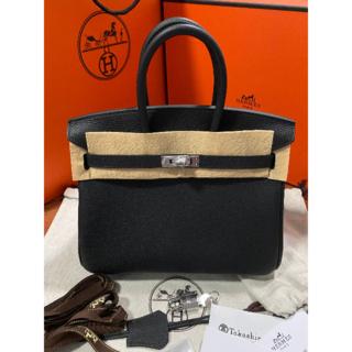 Hermes - 新品未使用♡HERMES♡バーキン 25 ブラック×シルバー金具 トゴ