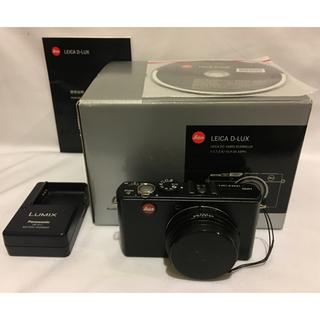 ライカ(LEICA)のライカ LEICA  D-LUX 4 デジタルカメラ 動作未確認 ジャンク♪(コンパクトデジタルカメラ)