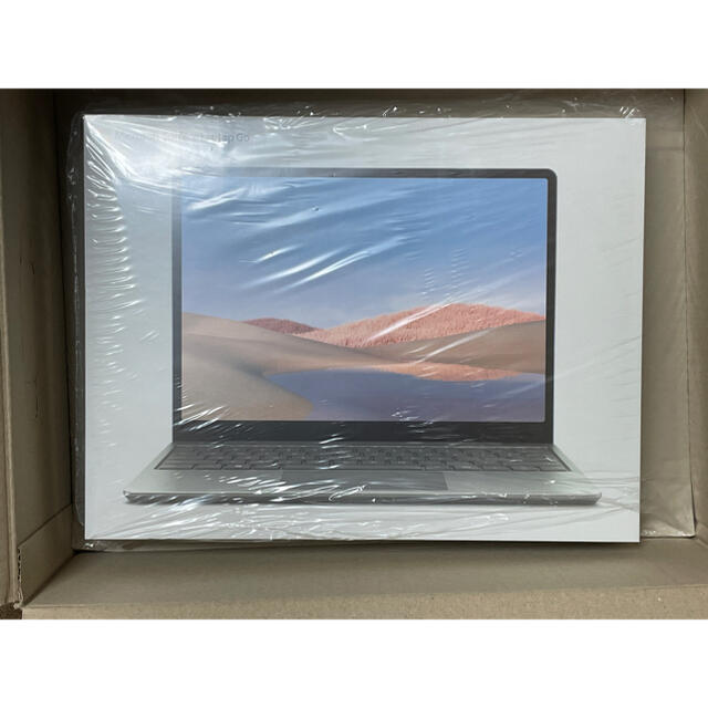 Microsoft(マイクロソフト)の【新品未開封】 Surface Laptop Go THH-00020 プラチナ スマホ/家電/カメラのPC/タブレット(ノートPC)の商品写真