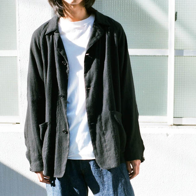 COMOLI(コモリ)の21ss/comoli コモリ/カシミア和紙ジャケット/サイズ1 メンズのジャケット/アウター(テーラードジャケット)の商品写真
