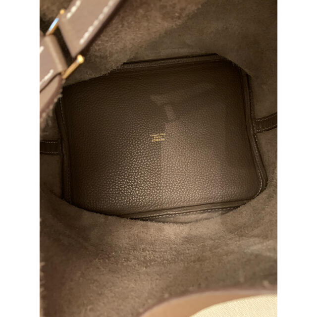 Hermes(エルメス)の人気⭐︎ゴールド金具HERMESピコタンmmエトゥープ レディースのバッグ(ハンドバッグ)の商品写真