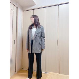 ザラ(ZARA)の【美品】ZARA チェックダブルジャケット(テーラードジャケット)
