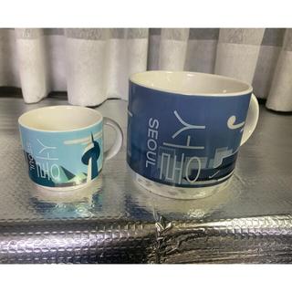 スターバックスコーヒー(Starbucks Coffee)のスターバックス ソウル マグカップ & デミタスカップ ロゴコースター&小物入付(マグカップ)