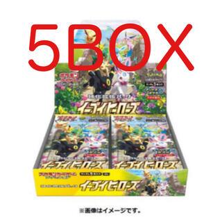 ポケモン(ポケモン)のポケカ イーブイヒーローズ 強化拡張パック 5box 5箱 (Box/デッキ/パック)