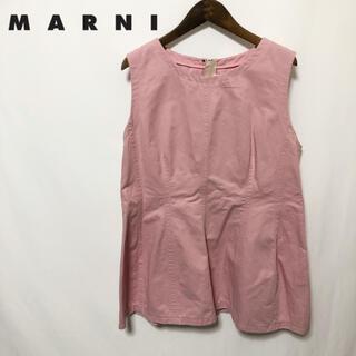 マルニ(Marni)の【MARNI】ダブルジップ カットソー(シャツ/ブラウス(半袖/袖なし))