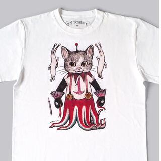 ヒグチユウコ ボリス雑貨店 ギュスターヴくん 1号 Tシャツ L