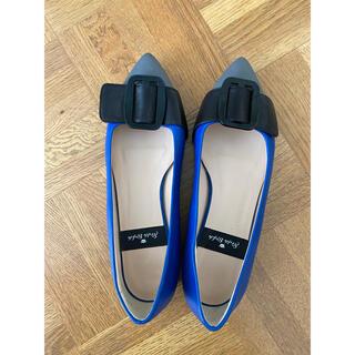 エストネーション(ESTNATION)の【新品】イタリア製革靴ローヒールパンプス サイズ36(ハイヒール/パンプス)