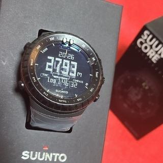 SUUNTO - 【新品】オマケ付 SUUNTO CORE オールブラック スントコア