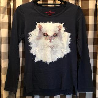 ヴィヴィアンウエストウッド(Vivienne Westwood)のVivienneWestwood☆キャットプリント長袖Tシャツ☆(Tシャツ(長袖/七分))