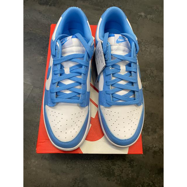 NIKE(ナイキ)のダンクLOW university blue 28.5 値下げ メンズの靴/シューズ(スニーカー)の商品写真