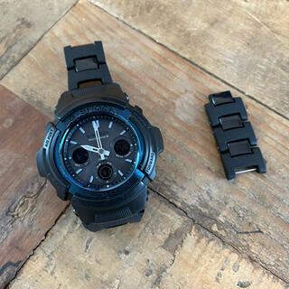G-SHOCK - CASIO G-SHOCK AWG-M100BC コンポジットバンド
