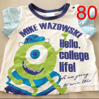 ディズニー(Disney)のモンスターズインク マイク 半袖Tシャツ 80cm(Tシャツ)