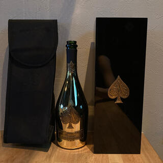アルマンドバジ(Armand Basi)のアルマンド ゴールド 空瓶 ケース カバー(シャンパン/スパークリングワイン)