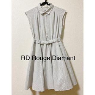 アールディールージュディアマン(RD Rouge Diamant)の【RD】ストライプ ワンピース(ひざ丈ワンピース)