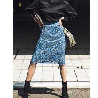アナイ(ANAYI)のアナイ レーススカート(ひざ丈スカート)