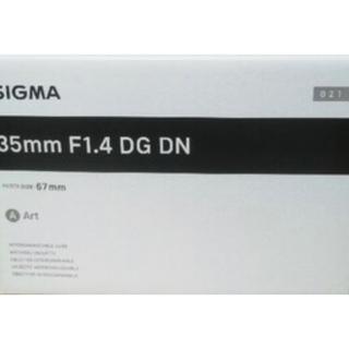 シグマ(SIGMA)のsigma 35mm F1.4 DG DN   Art(レンズ(単焦点))