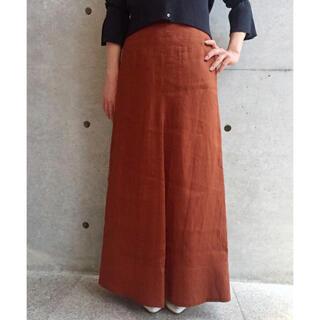 アクアガール(aquagirl)のアクアガール 麻ロングスカート(ロングスカート)